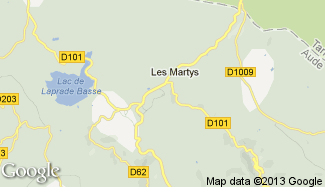 Plan de Les Martys