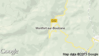 Plan de Montfort-sur-Boulzane