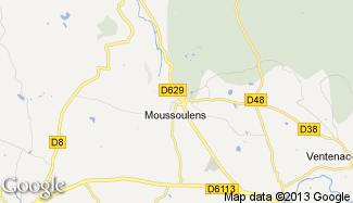 Plan de Moussoulens