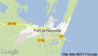 Plan de Port-la-Nouvelle