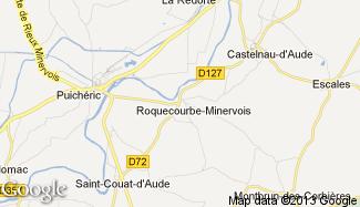 Plan de Roquecourbe-Minervois