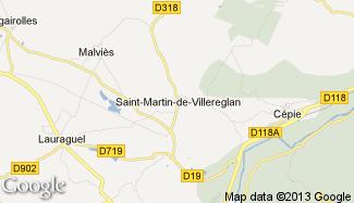 Plan de Saint-Martin-de-Villereglan