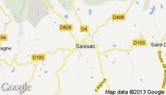 Plan de Saissac