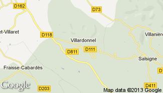 Plan de Villardonnel