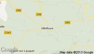 Plan de Villefloure