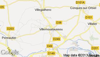 Plan de Villemoustaussou