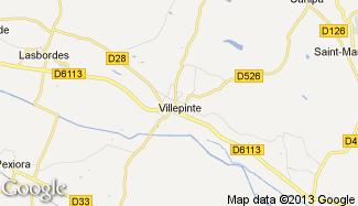 Plan de Villepinte