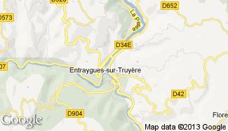 Plan de Entraygues-sur-Truyère