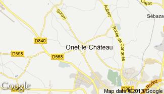 Plan de Onet-le-Château
