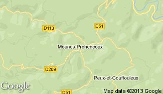 Plan de Mounes-Prohencoux