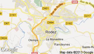 Plan de Rodez