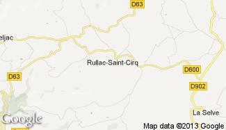 Plan de Rullac-Saint-Cirq