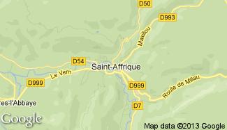 Plan de Saint-Affrique