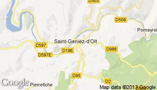 Plan de Saint-Geniez-d'Olt