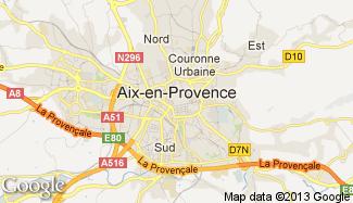 Plan de Aix-en-Provence