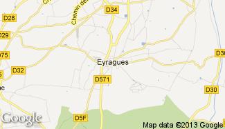 Plan de Eyragues