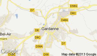 Plan de Gardanne