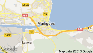 Plan de Martigues