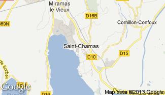 Plan de Saint-Chamas