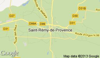 Plan de Saint-Rémy-de-Provence