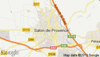 Plan de Salon-de-Provence