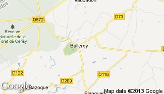 Plan de Balleroy