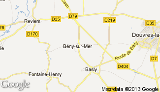 Plan de Bény-sur-Mer