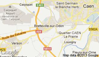 Plan de Bretteville-sur-Odon