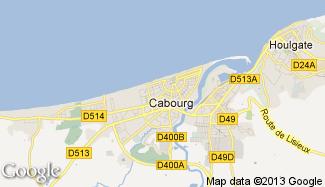 Plan de Cabourg