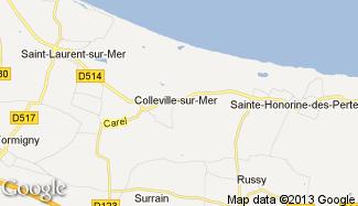 Plan de Colleville-sur-Mer