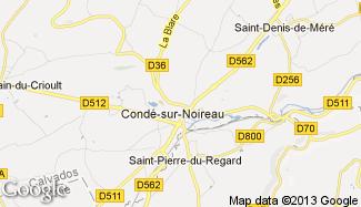 Plan de Condé-sur-Noireau