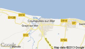 Plan de Courseulles-sur-Mer