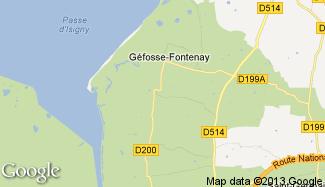 Plan de Géfosse-Fontenay