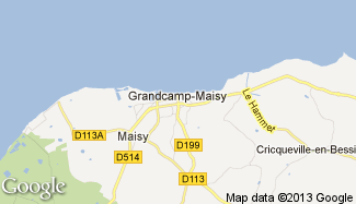 Plan de Grandcamp-Maisy