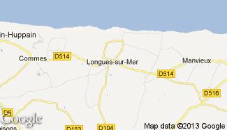Plan de Longues-sur-Mer