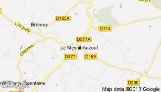 Plan de Le Mesnil-Auzouf