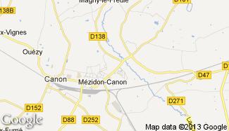 Plan de Mézidon-Canon