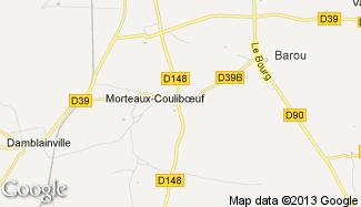 Plan de Morteaux-Couliboeuf