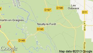 Plan de Neuilly-la-Forêt
