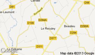 Plan de Le Reculey