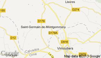 Plan de Saint-Germain-de-Montgommery