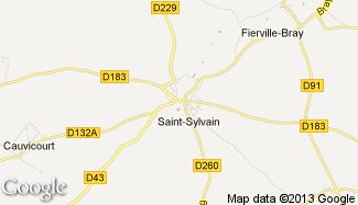 Plan de Saint-Sylvain