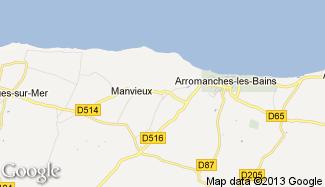 Plan de Tracy-sur-Mer