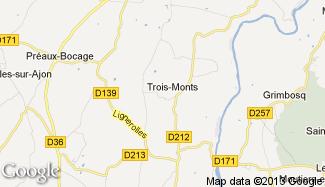 Plan de Trois-Monts