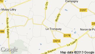 Plan de Le Tronquay