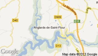 Plan de Anglards-de-Saint-Flour