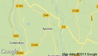 Plan de Apchon