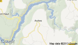 Plan de Arches