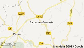 Plan de Barriac-les-Bosquets