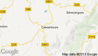 Plan de Cassaniouze